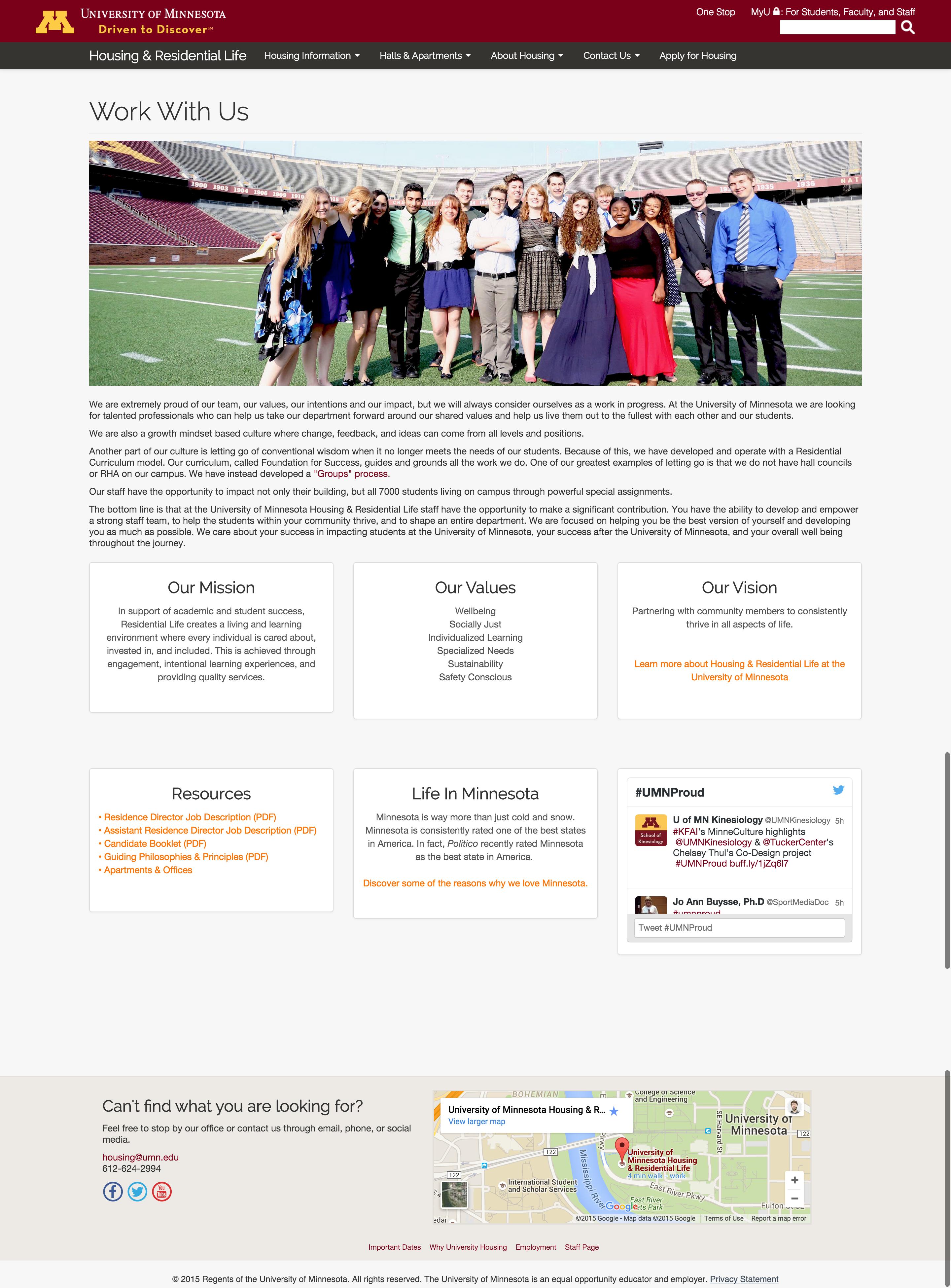 schwarzinger portfolio employment recruitment website screenshot